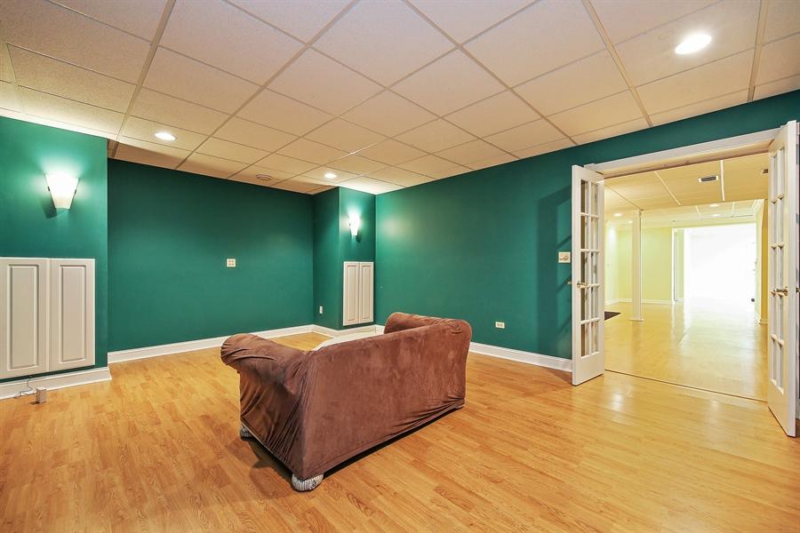 Real Estate Photography - 47 Brookside, Lemont, IL, 60439 - Media Room