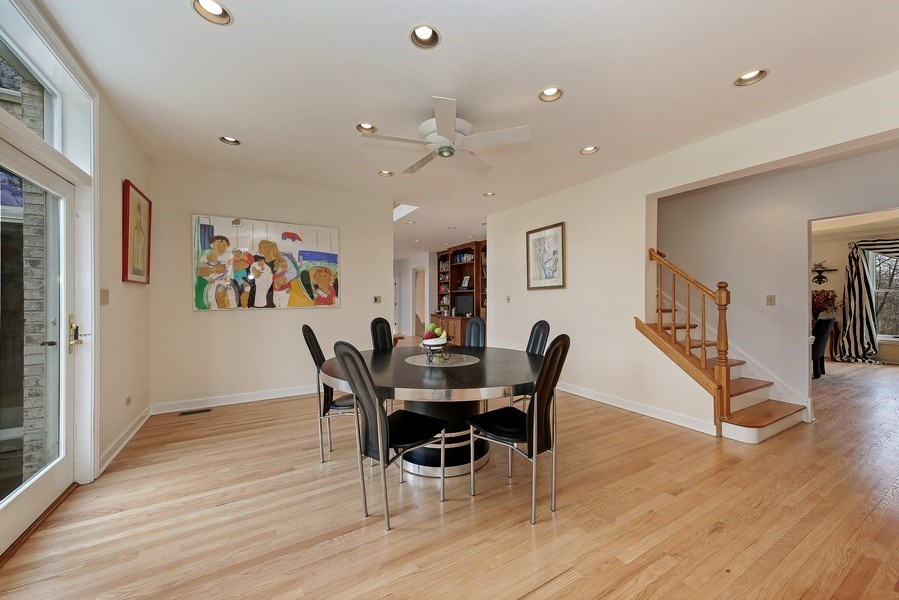 Real Estate Photography - 47 Brookside, Lemont, IL, 60439 - Eating Area