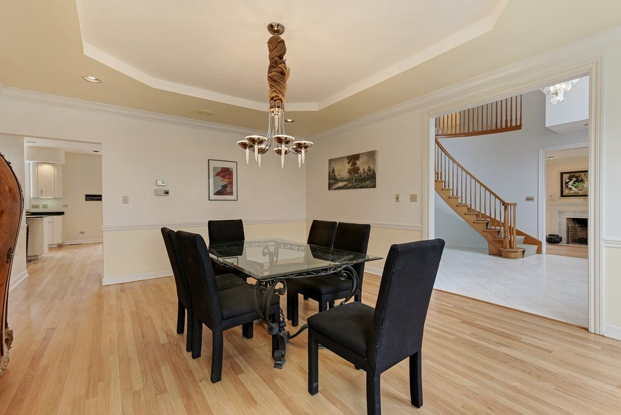 Real Estate Photography - 47 Brookside, Lemont, IL, 60439 - Dining Room