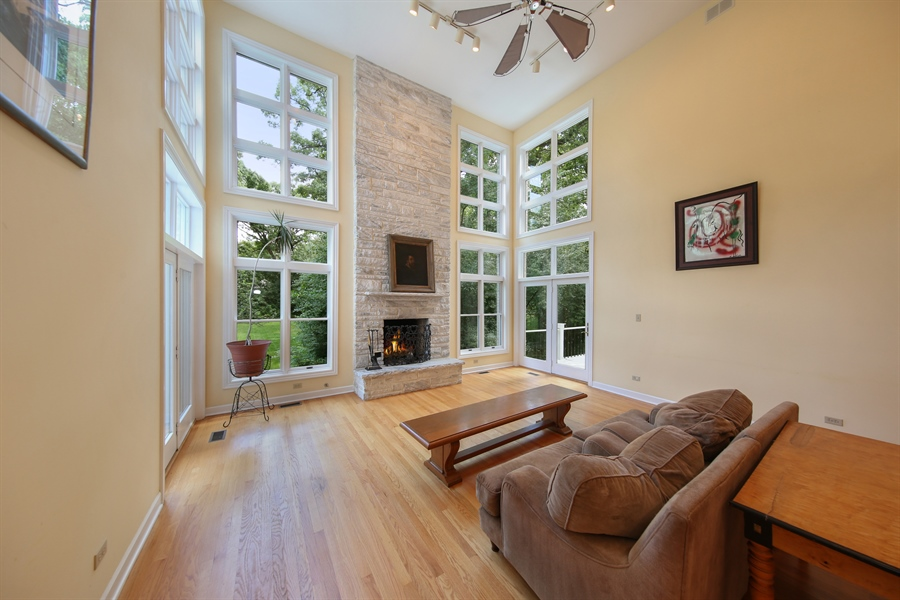 Real Estate Photography - 47 Brookside, Lemont, IL, 60439 - Family Room