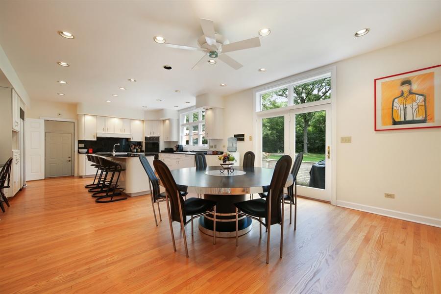 Real Estate Photography - 47 Brookside, Lemont, IL, 60439 - Breakfast Area