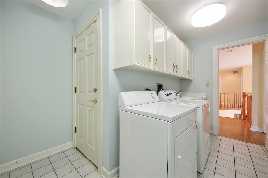 Real Estate Photography - 47 Brookside, Lemont, IL, 60439 - Laundry Room