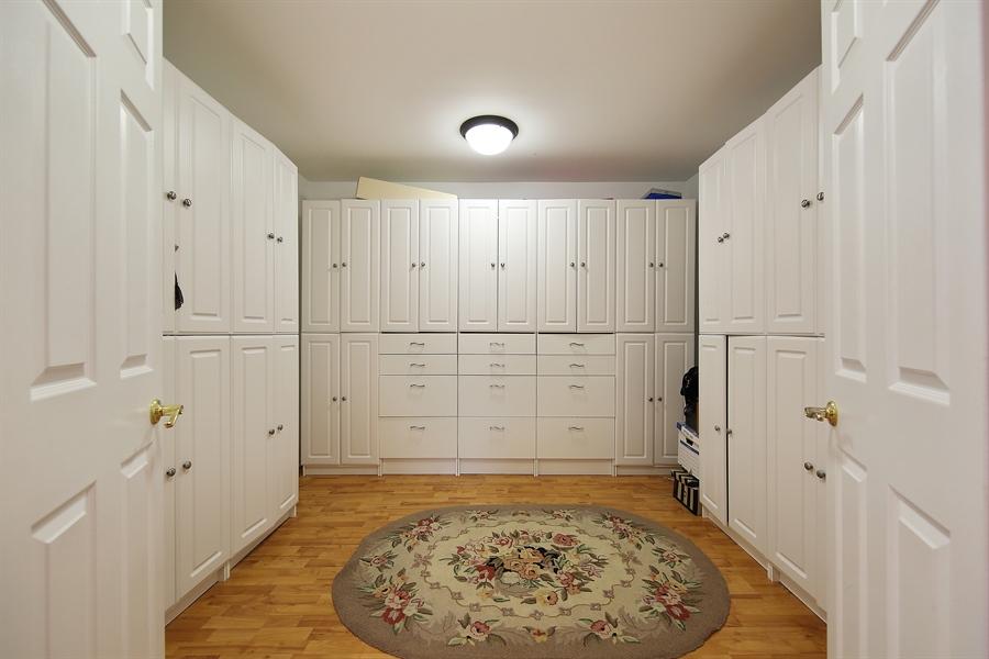 Real Estate Photography - 47 Brookside, Lemont, IL, 60439 - Master Bedroom Closet