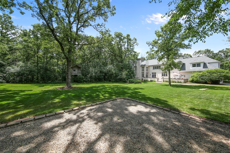 Real Estate Photography - 47 Brookside, Lemont, IL, 60439 - Rear View