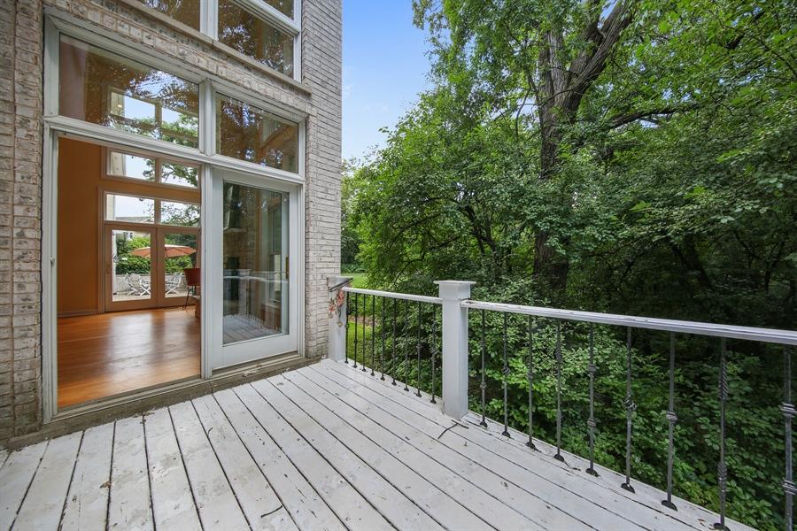 Real Estate Photography - 47 Brookside, Lemont, IL, 60439 - Balcony
