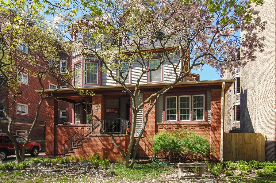 Real Estate Photography - 1452 W Fargo Ave, Chicago, IL, 60626 - Front View