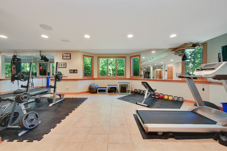 Real Estate Photography - 8981 Orchard, Willow Springs, IL, 60480 - Lower Level
