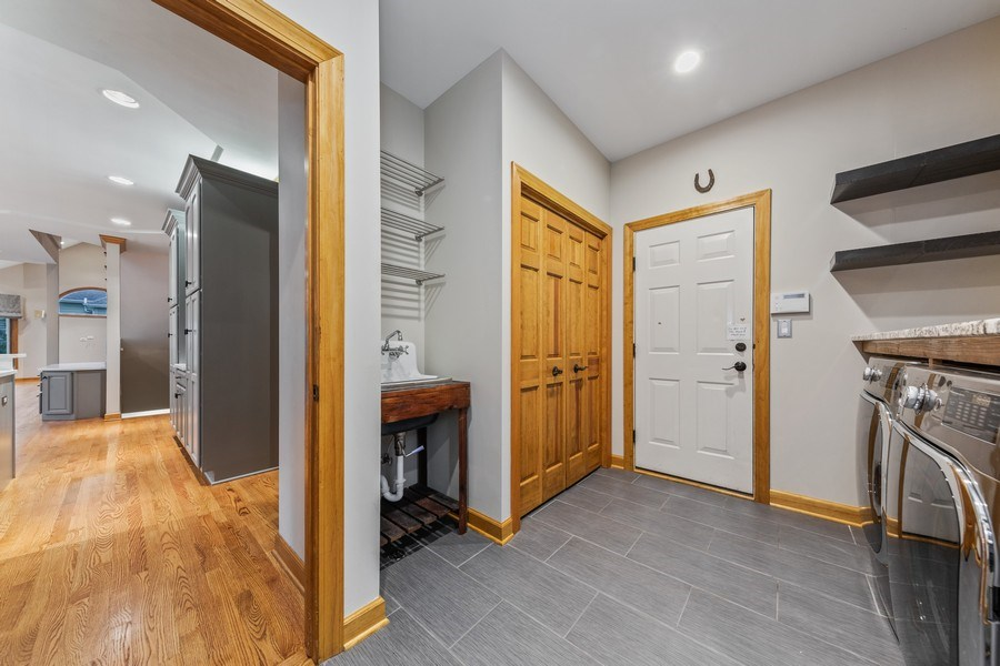 Real Estate Photography - 8981 Orchard, Willow Springs, IL, 60480 - Mudroom