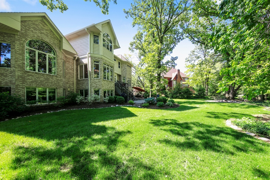 Real Estate Photography - 8981 Orchard, Willow Springs, IL, 60480 - Back Yard