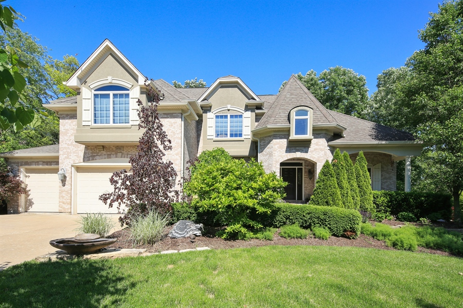 Real Estate Photography - 8981 Orchard, Willow Springs, IL, 60480 - Front View