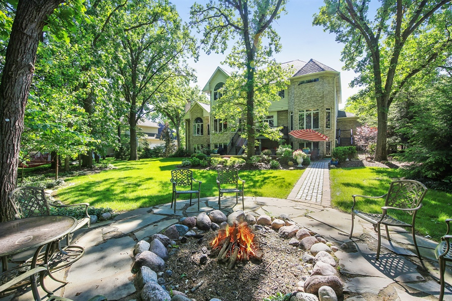 Real Estate Photography - 8981 Orchard, Willow Springs, IL, 60480 - Rear View