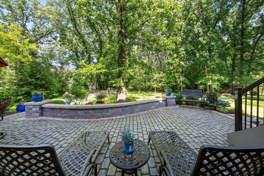 Real Estate Photography - 8981 Orchard, Willow Springs, IL, 60480 - Patio