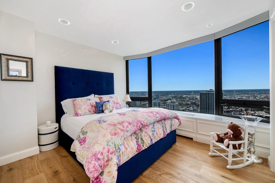 Real Estate Photography - 1555 N Astor, 48W, Chicago, IL, 60610 - Third Bedroom