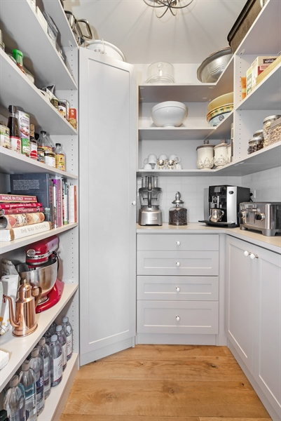 Real Estate Photography - 1555 N Astor, 48W, Chicago, IL, 60610 - Walk-in Pantry in Kitchen