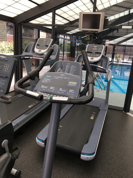 Real Estate Photography - 1555 N Astor, 48W, Chicago, IL, 60610 - Partial View of Air-conditioned Cardio Center
