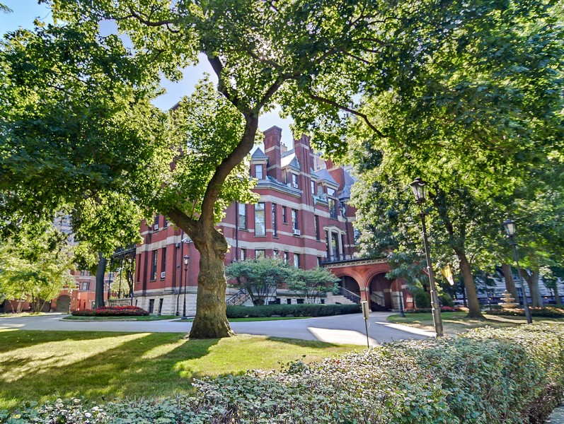 Real Estate Photography - 1555 N Astor, 48W, Chicago, IL, 60610 - Cardinal's Mansion, Across the Street from Lobby