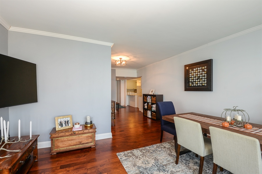 Real Estate Photography - 175 E. Delaware Place, 5909, Chicago, IL, 60611 - Dining Area