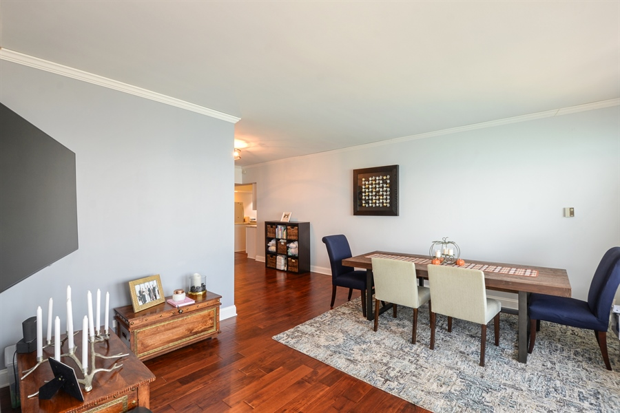 Real Estate Photography - 175 E. Delaware Place, 5909, Chicago, IL, 60611 - Dining Room