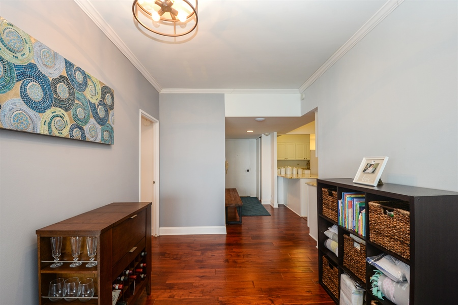 Real Estate Photography - 175 E. Delaware Place, 5909, Chicago, IL, 60611 - Hallway