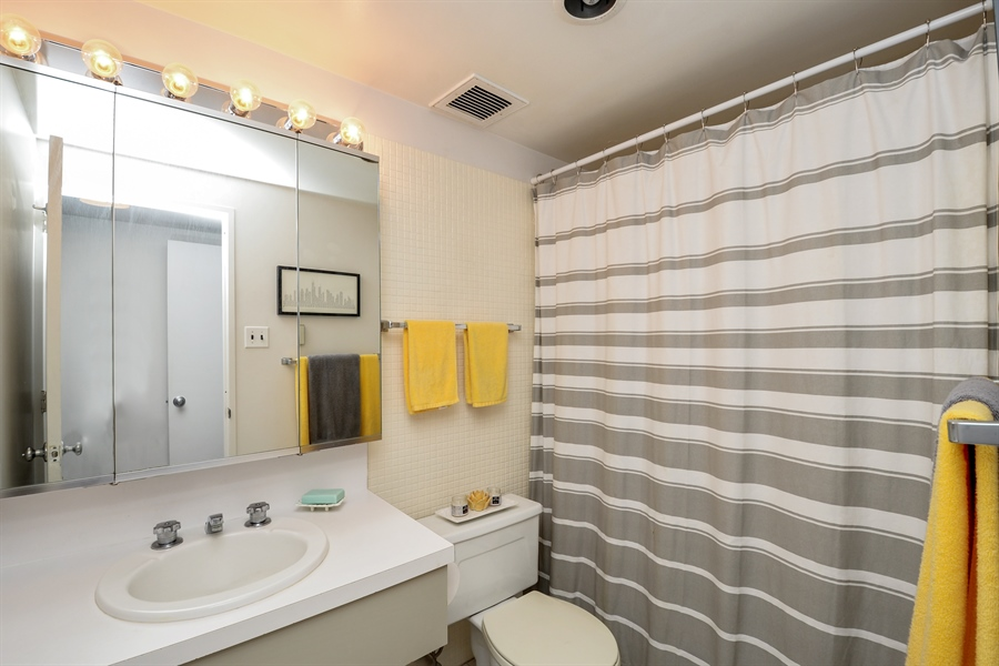 Real Estate Photography - 175 E. Delaware Place, 5909, Chicago, IL, 60611 - Bathroom