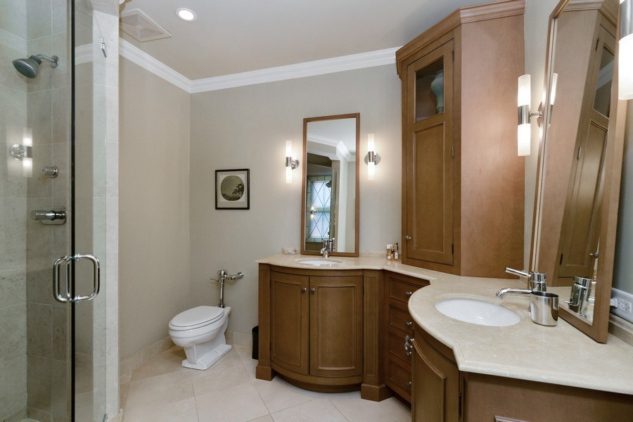 Real Estate Photography - 3400 N Lake Shore Drive, 6E, Chicago, IL, 60657 - Master Bathroom