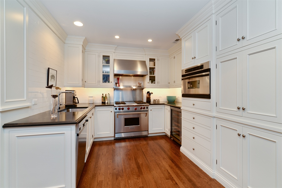 Real Estate Photography - 3400 N Lake Shore Drive, 6E, Chicago, IL, 60657 - Kitchen