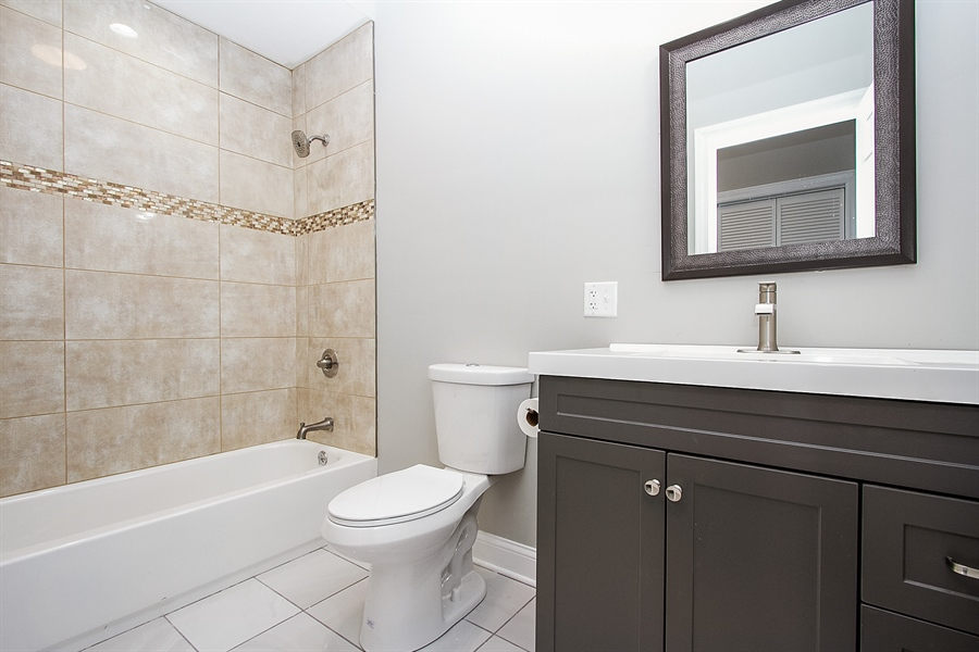 Real Estate Photography - 7400 S Stony Island Ave, 302, Chicago, IL, 60649 - Bathroom
