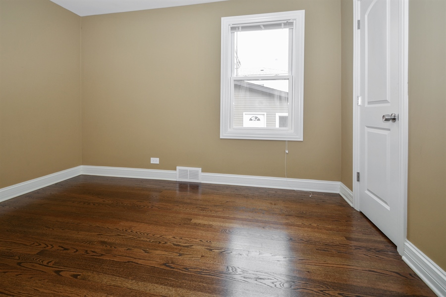 Real Estate Photography - 5737 S New England Ave, Chicago, IL, 60638 - 2nd Bedroom