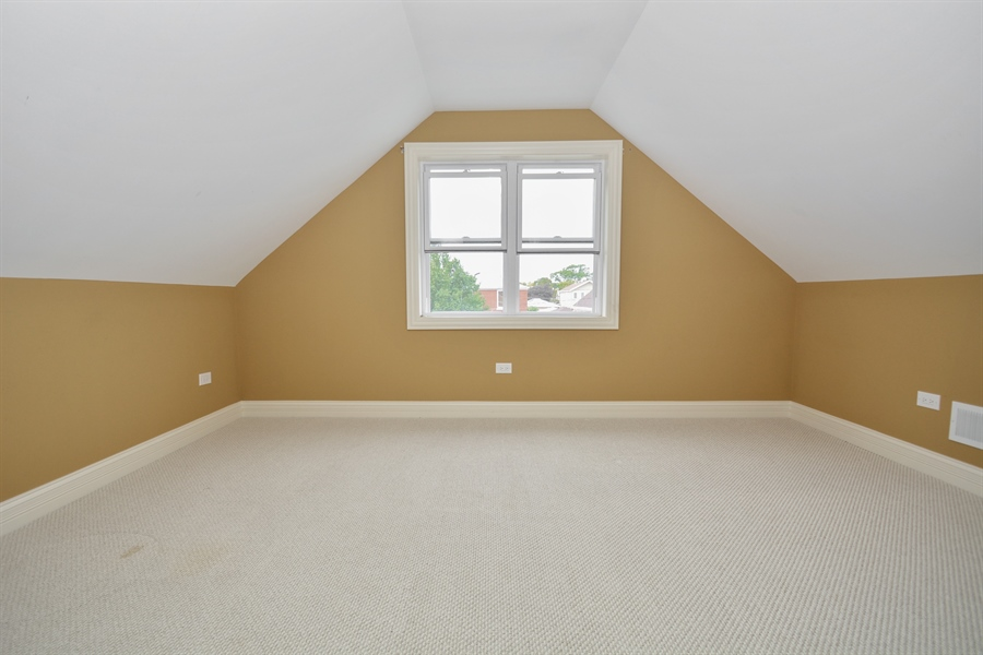 Real Estate Photography - 5737 S New England Ave, Chicago, IL, 60638 - 4th Bedroom