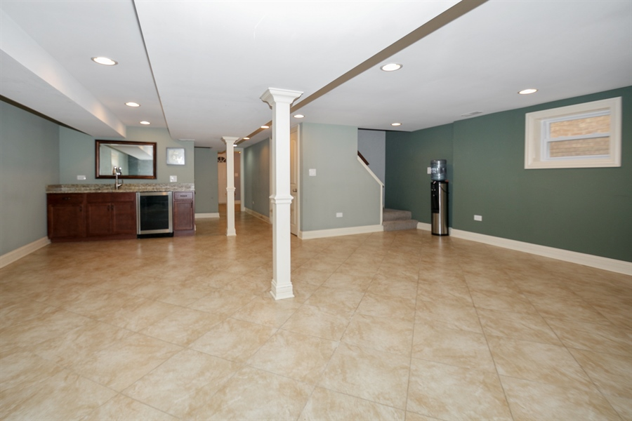 Real Estate Photography - 5737 S New England Ave, Chicago, IL, 60638 - Lower Level