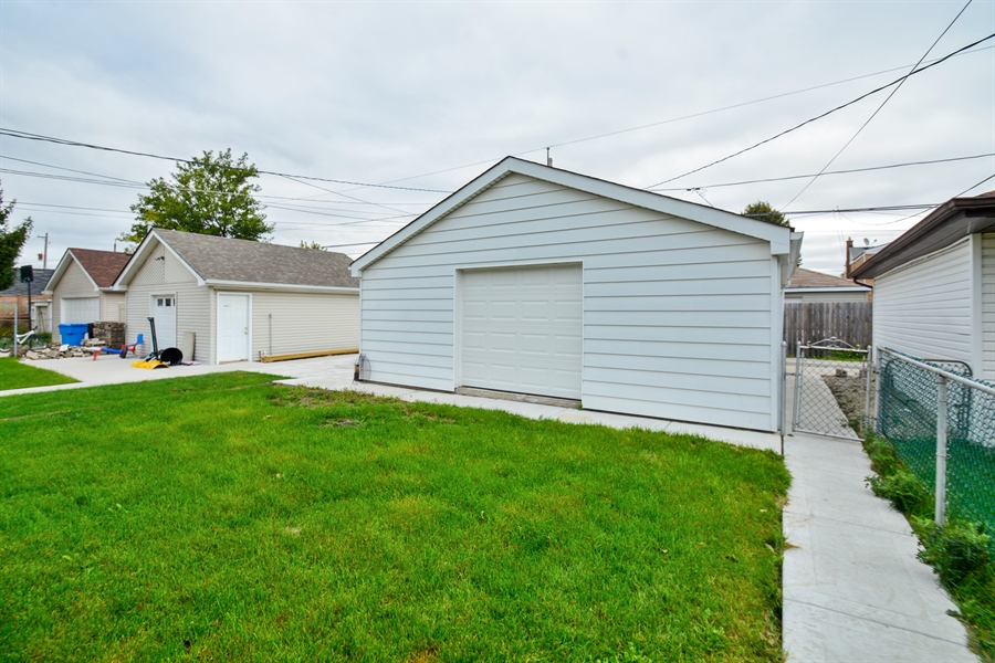 Real Estate Photography - 5737 S New England Ave, Chicago, IL, 60638 - Back Yard