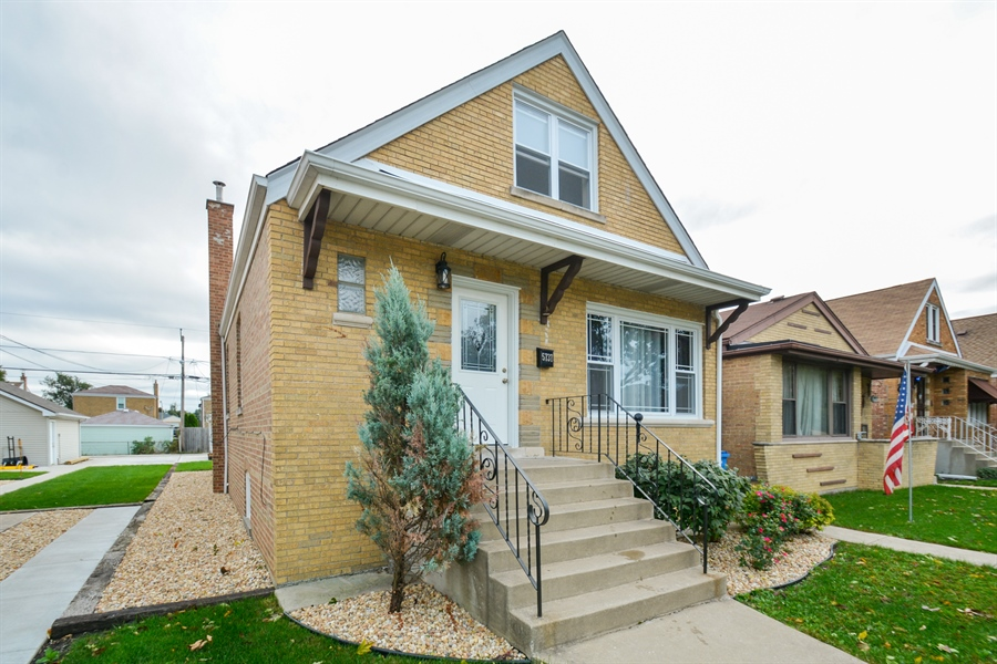 Real Estate Photography - 5737 S New England Ave, Chicago, IL, 60638 - Front View