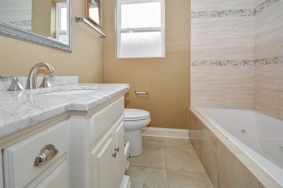 Real Estate Photography - 5737 S New England Ave, Chicago, IL, 60638 - Bathroom