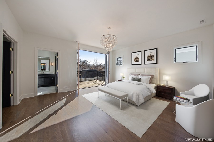 Real Estate Photography - 22 E 6th St, Hinsdale, IL, 60521 - Master Bedroom