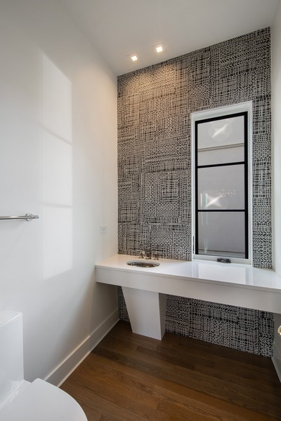 Real Estate Photography - 22 E 6th St, Hinsdale, IL, 60521 - Powder Room