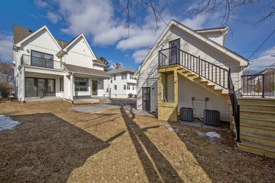 Real Estate Photography - 22 E 6th St, Hinsdale, IL, 60521 - Back Yard