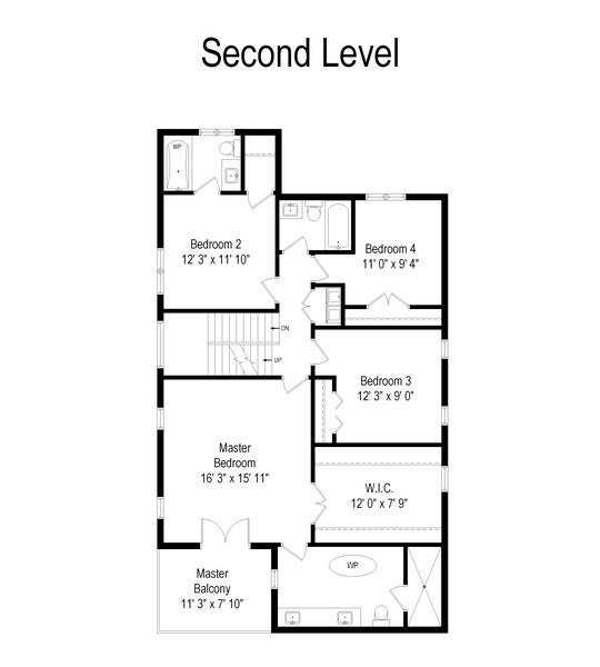 Real Estate Photography - 22 E 6th St, Hinsdale, IL, 60521 - Floor Plan