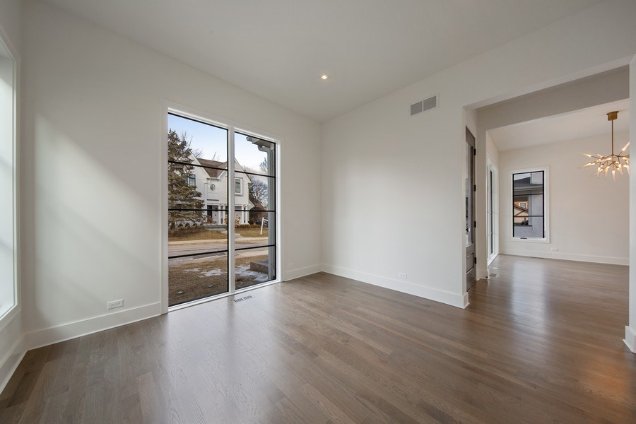 Real Estate Photography - 22 E 6th St, Hinsdale, IL, 60521 - Den