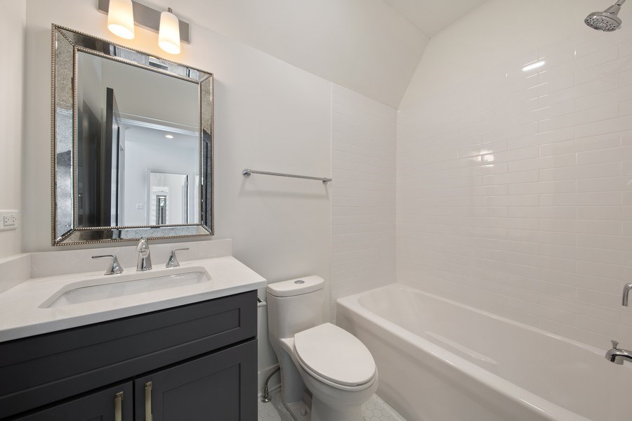 Real Estate Photography - 22 E 6th St, Hinsdale, IL, 60521 - 2nd Bathroom