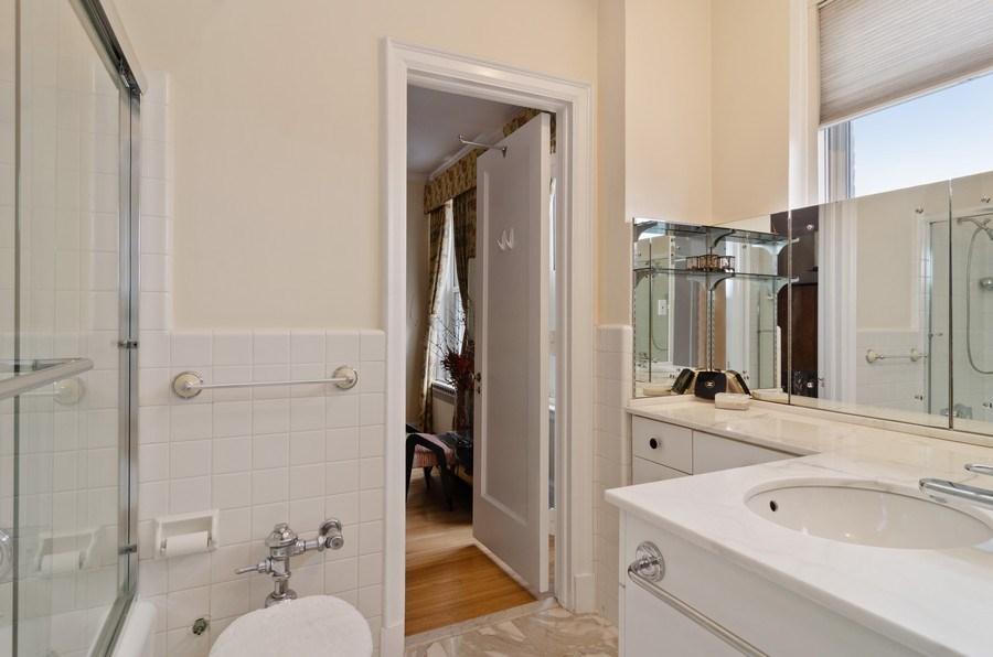 Real Estate Photography - 3500 North Lake Shore Drive, #12B, Chicago, IL, 60657 - Master Bathroom