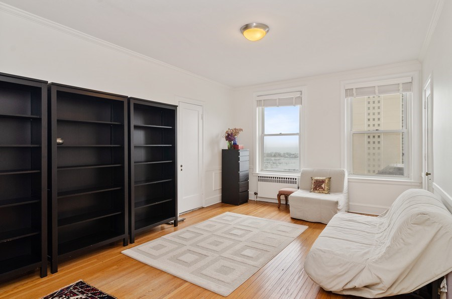 Real Estate Photography - 3500 North Lake Shore Drive, #12B, Chicago, IL, 60657 - 2nd Bedroom