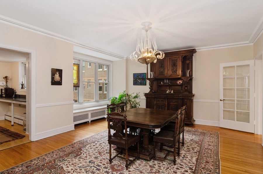 Real Estate Photography - 3500 North Lake Shore Drive, #12B, Chicago, IL, 60657 - Dining Room