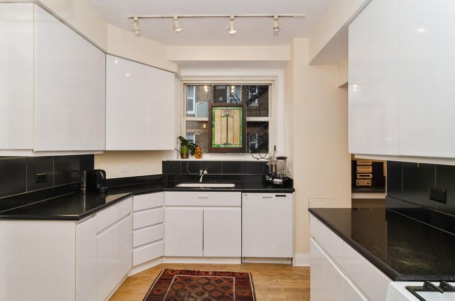 Real Estate Photography - 3500 North Lake Shore Drive, #12B, Chicago, IL, 60657 - Kitchen