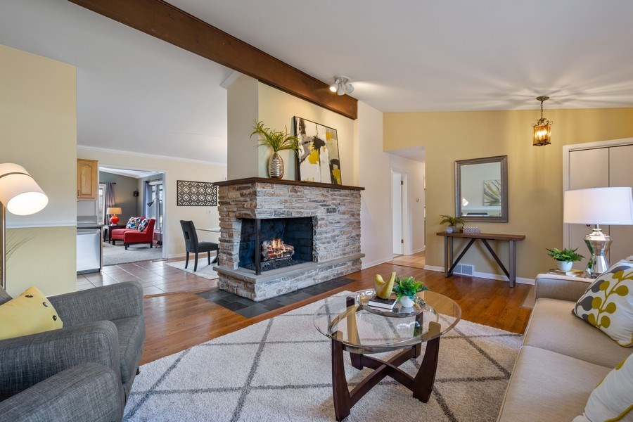 Real Estate Photography - 83 W Wildwood Dr, Barrington, IL, 60010 - Living Room