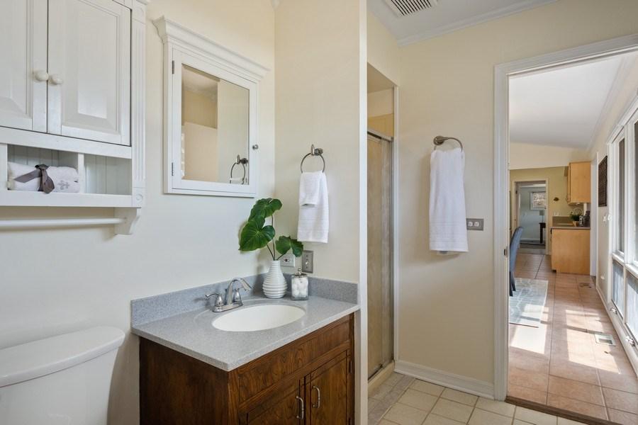 Real Estate Photography - 83 W Wildwood Dr, Barrington, IL, 60010 - Master Bathroom