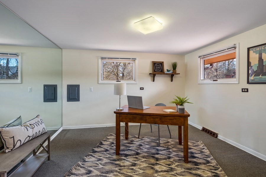Real Estate Photography - 83 W Wildwood Dr, Barrington, IL, 60010 - Office