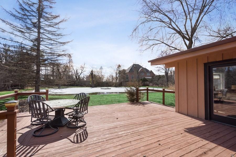 Real Estate Photography - 83 W Wildwood Dr, Barrington, IL, 60010 - Deck