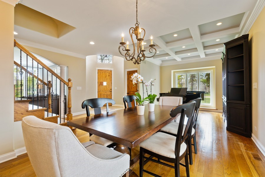 Real Estate Photography - 519 The Lane, Hinsdale, IL, 60521 - Dining Room