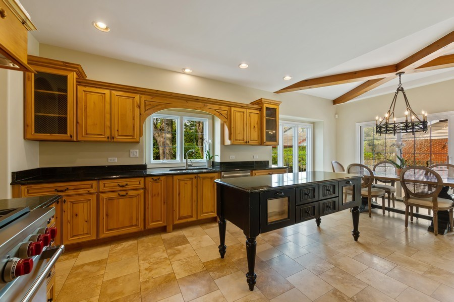 Real Estate Photography - 519 The Lane, Hinsdale, IL, 60521 - Kitchen