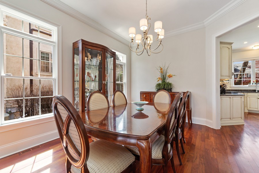 Real Estate Photography - 802 Franklin, Hinsdale, IL, 60521 - Dining Room